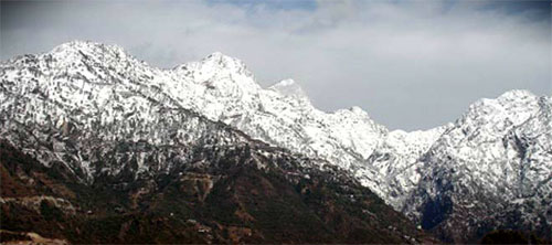 Vaishno Devi Shrine Surroundings during Winters
